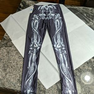 3/$20 Skeleton leggings - NWT - Lotus Leggings